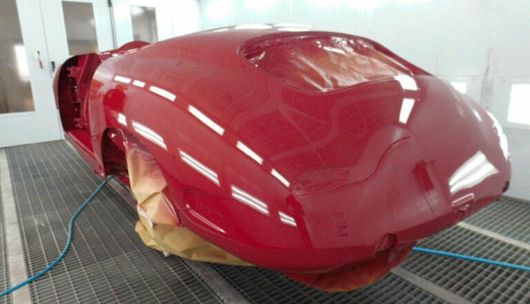 356 Roadster Red Paintwork 13