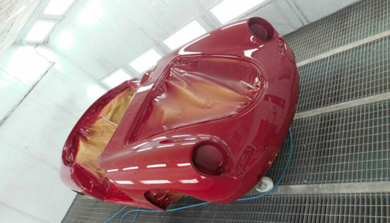 356 Roadster Red Paintwork 15