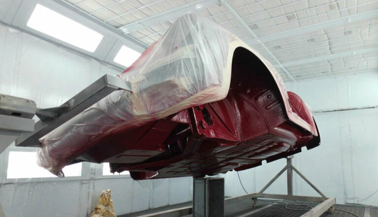 356 Roadster Red Paintwork 7