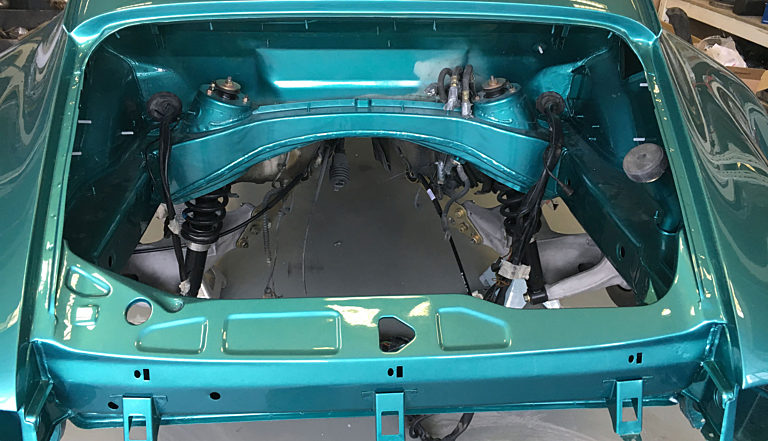 Porsche 964 Turbo Green 15 2000 1400